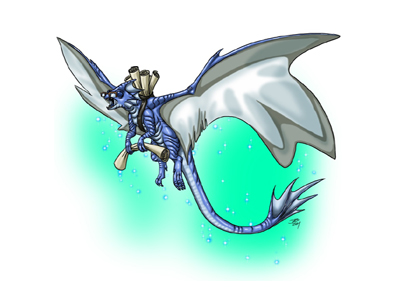 Draco The Faerie Dragon